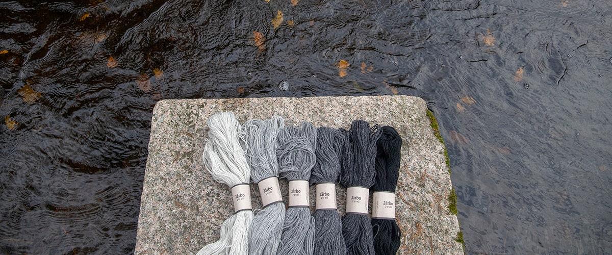 Järbo 2 tr ull - et klassisk 2-trådet ullgarn i 49 vakre farger