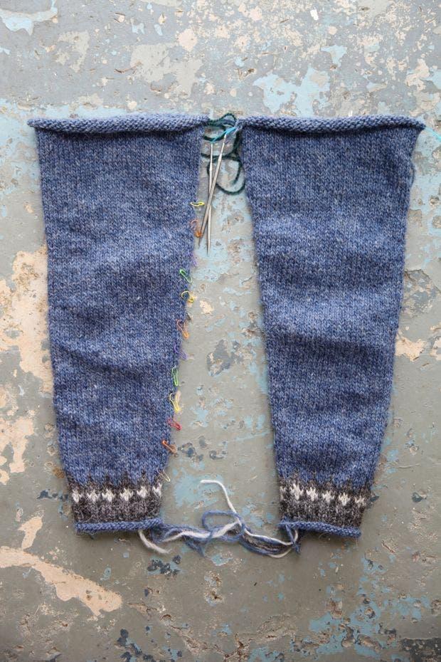 Riddari knitalong 3 – Ärmar