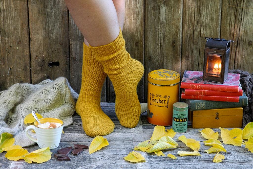 I Heart Harvest Socks