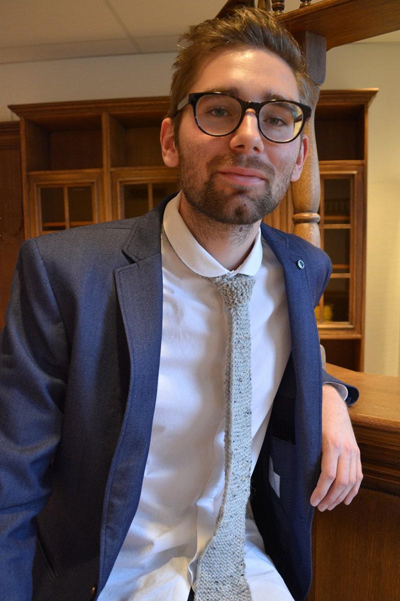 Stickad slips till Fars dag