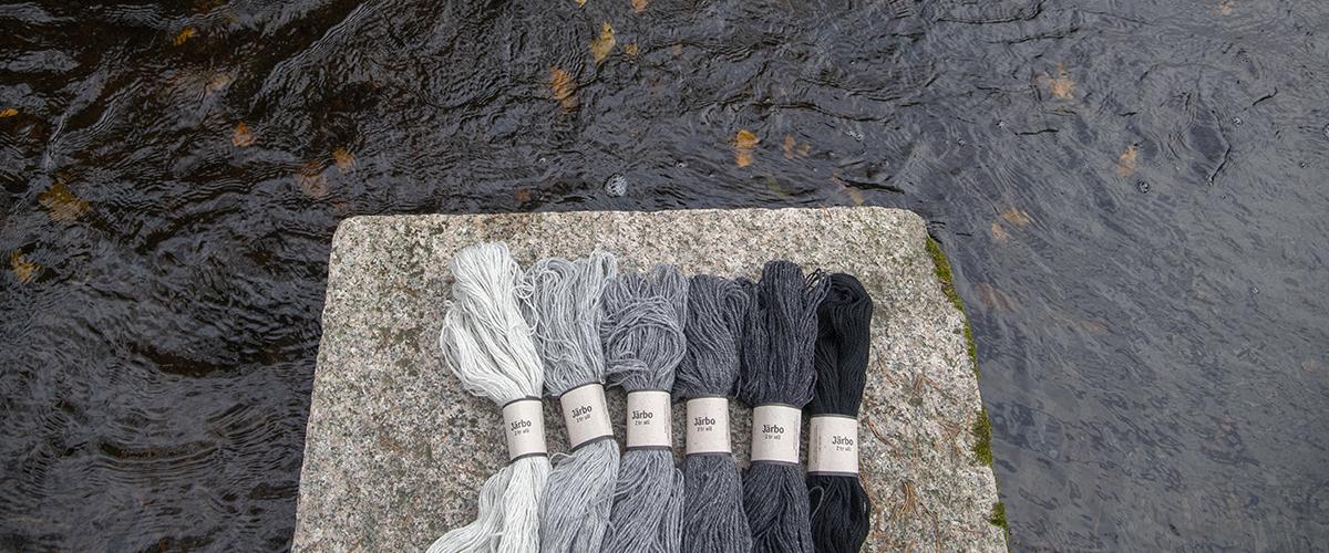 Järbo 2 tr ull - vårt nya ullgarn i 49 färger!