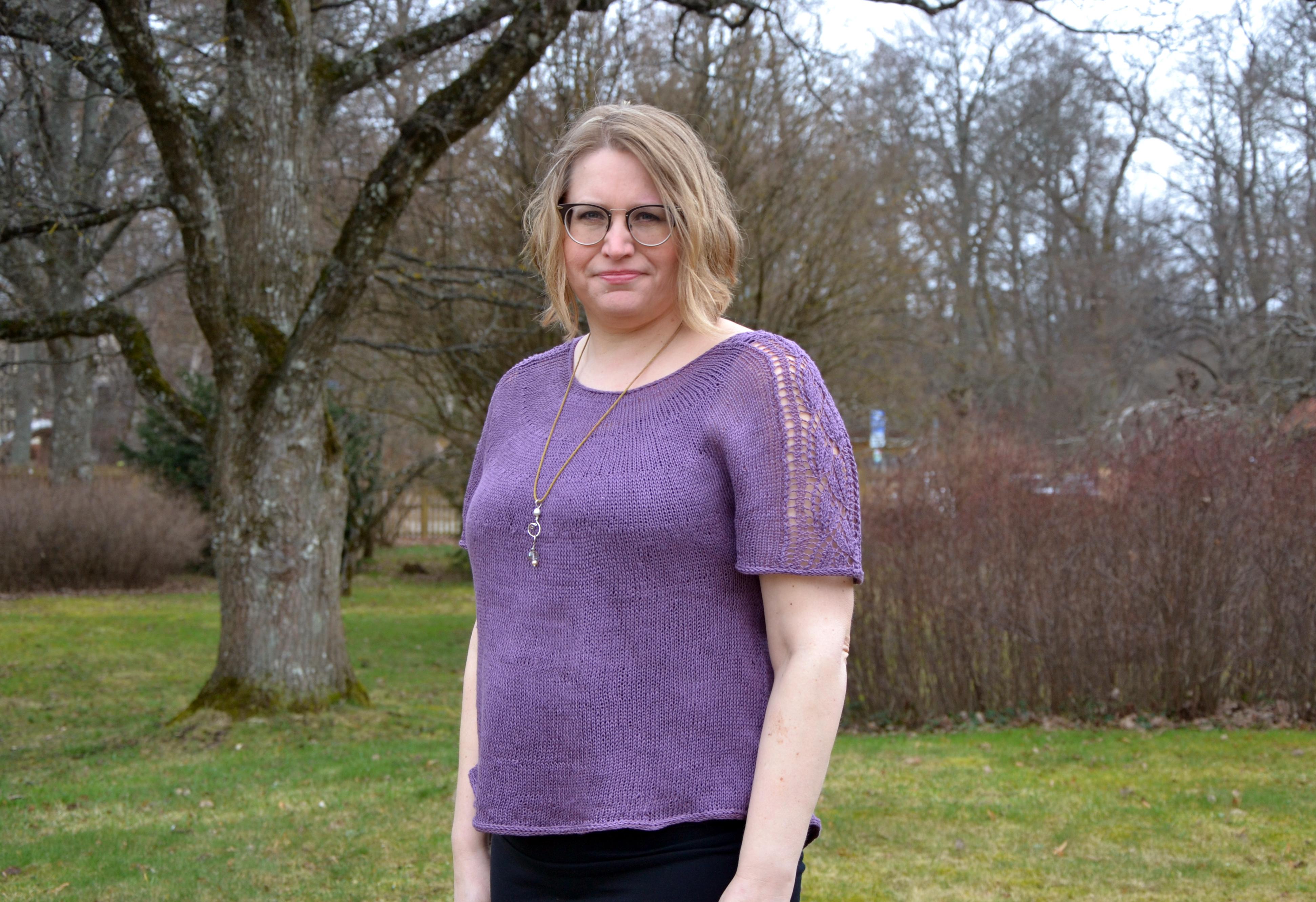 Del 3: T-shirten Siw - Ärmar och blockning