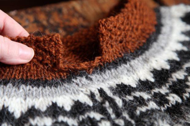 Aftur knitalong – montering