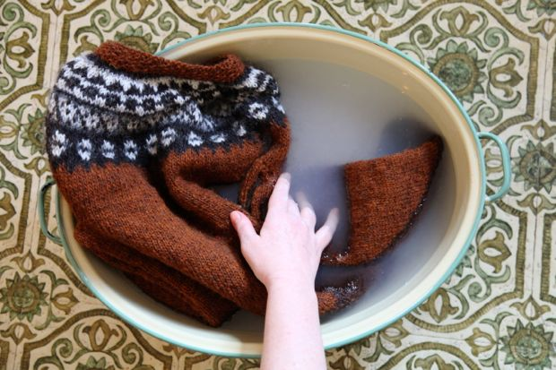 Aftur knitalong – tvätt & skötsel