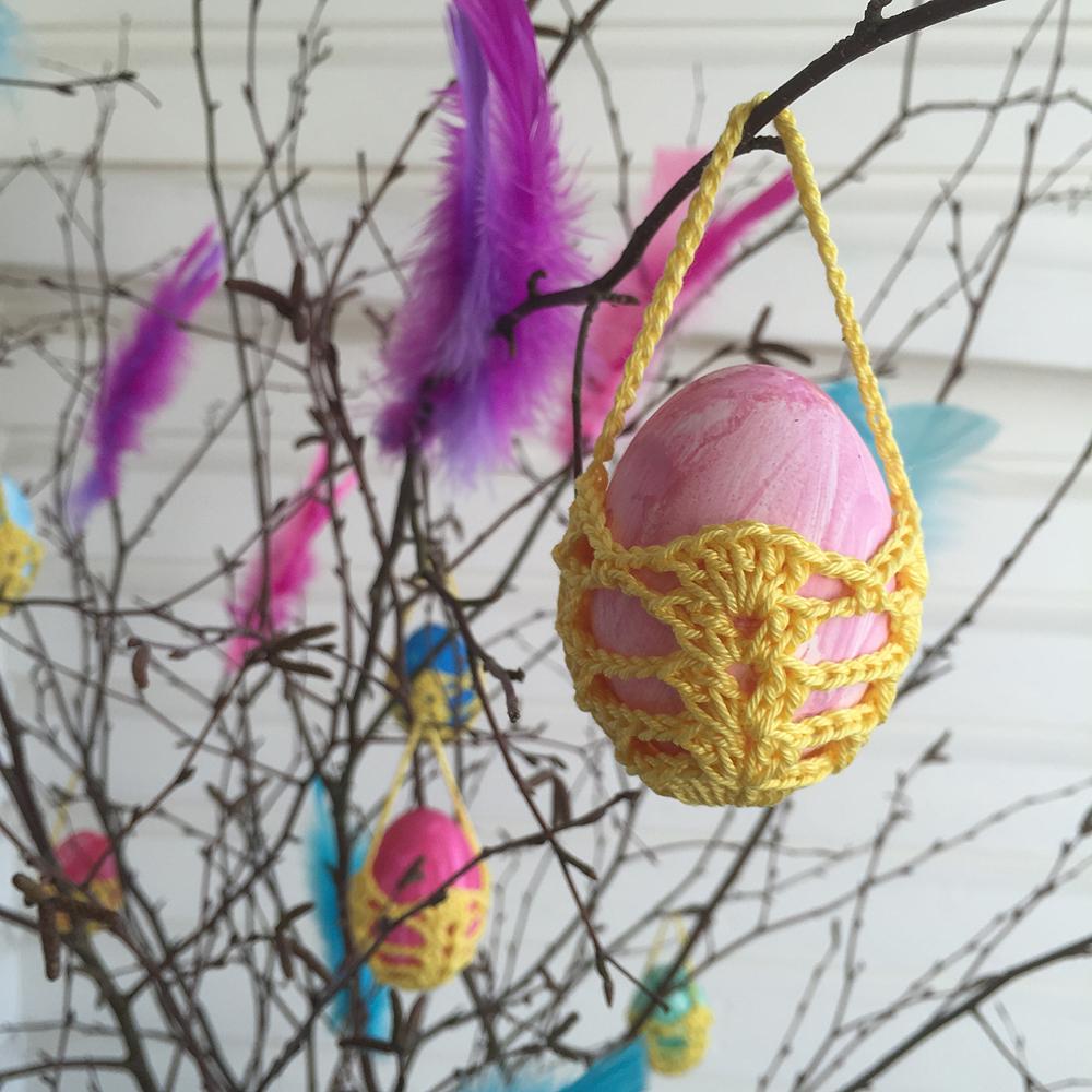 Äggkorgar till påskriset