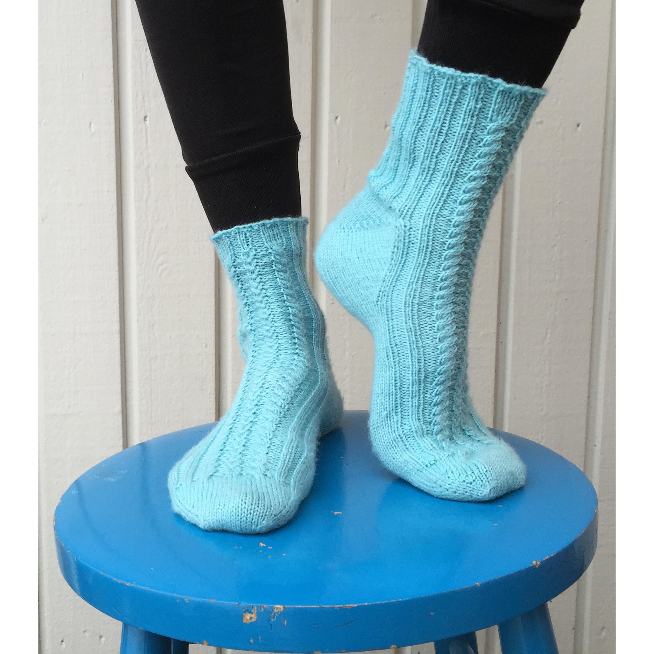 Garnomera om sockstickning!