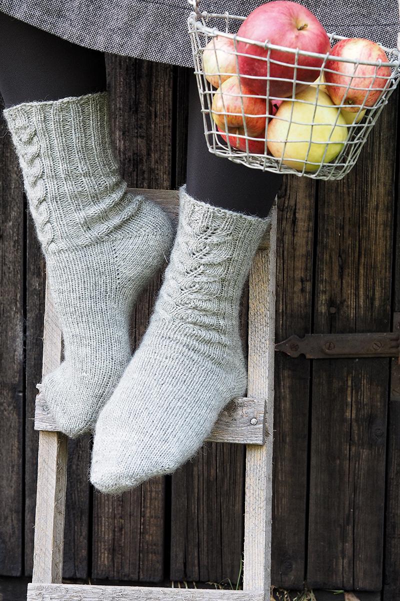 Ingrid Marie – sockor i äppeltid