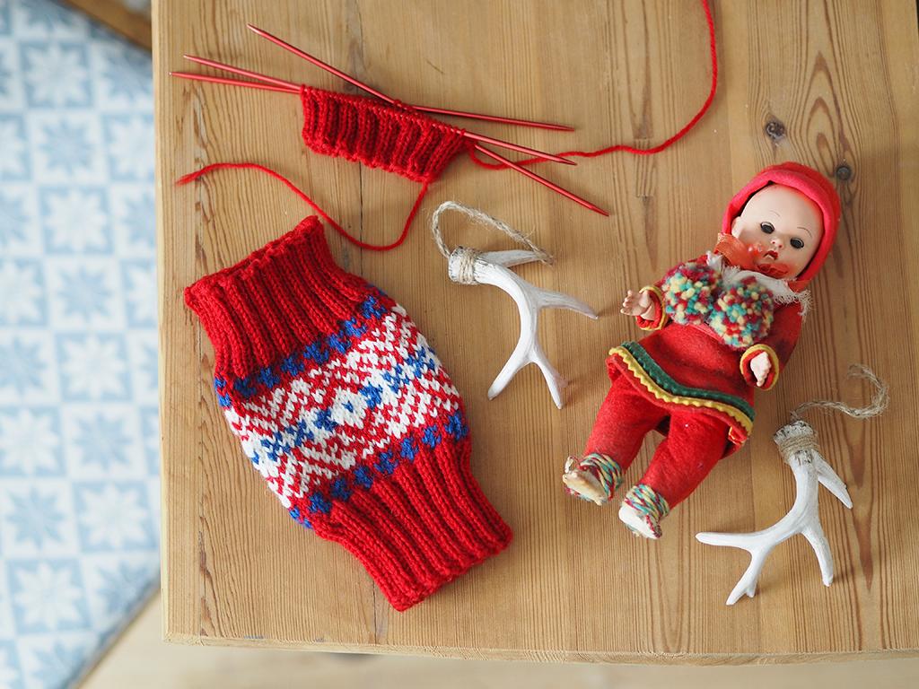 Samisk nationaldag med färggranna halvvantar!