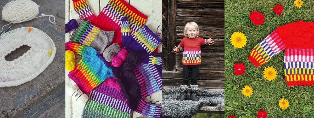 Skyskrapa sweater - video and picture tutorials