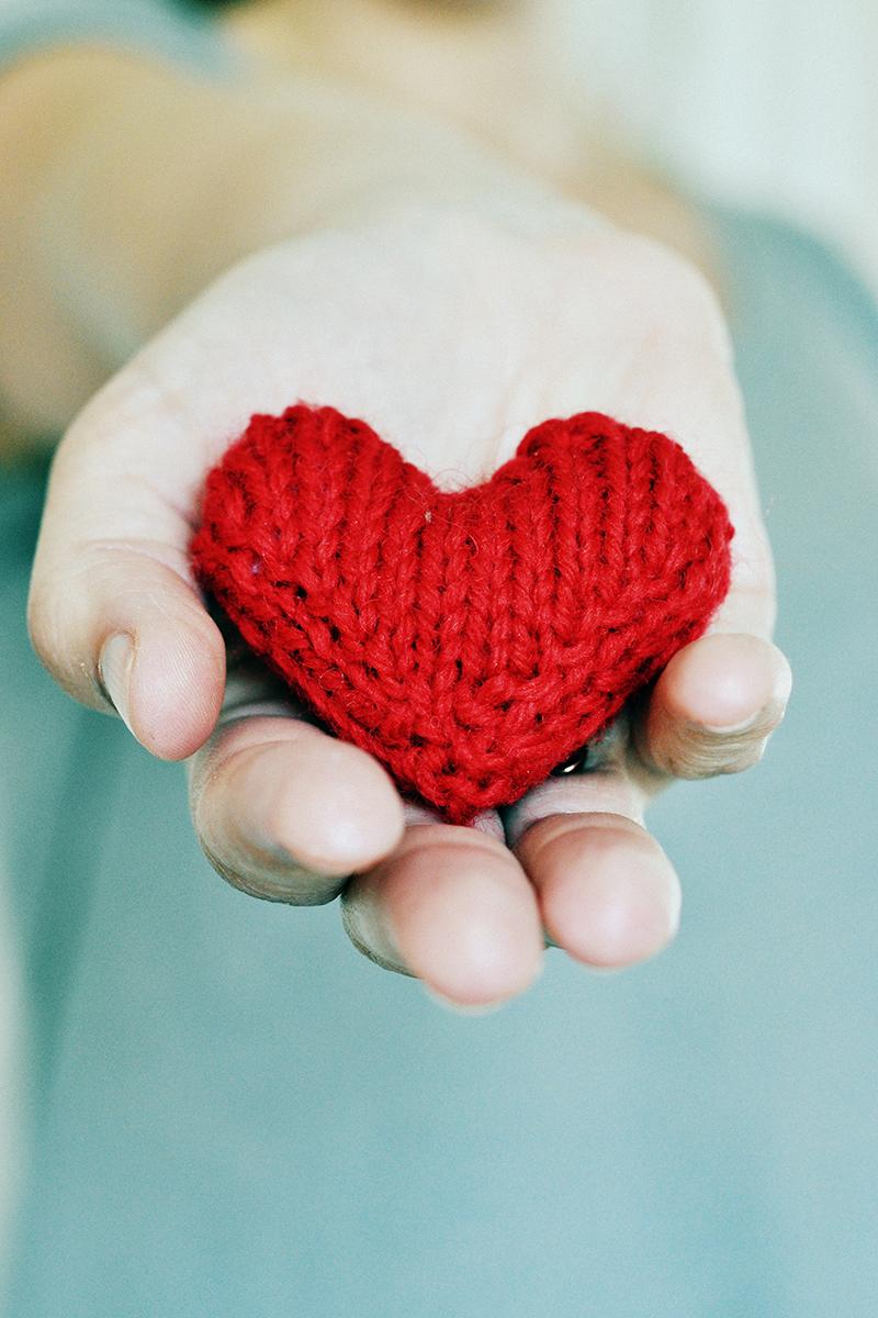 Sticka ett hjärta!