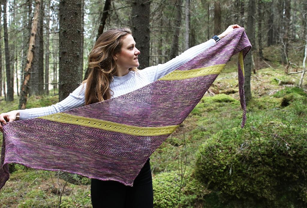 Vårens vackraste sjal: Vindens frihet
