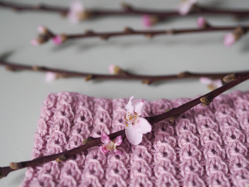 Vårtecken-KAL: Körsbärsblom (Del 1)