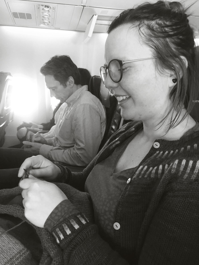Sticka på flygplan