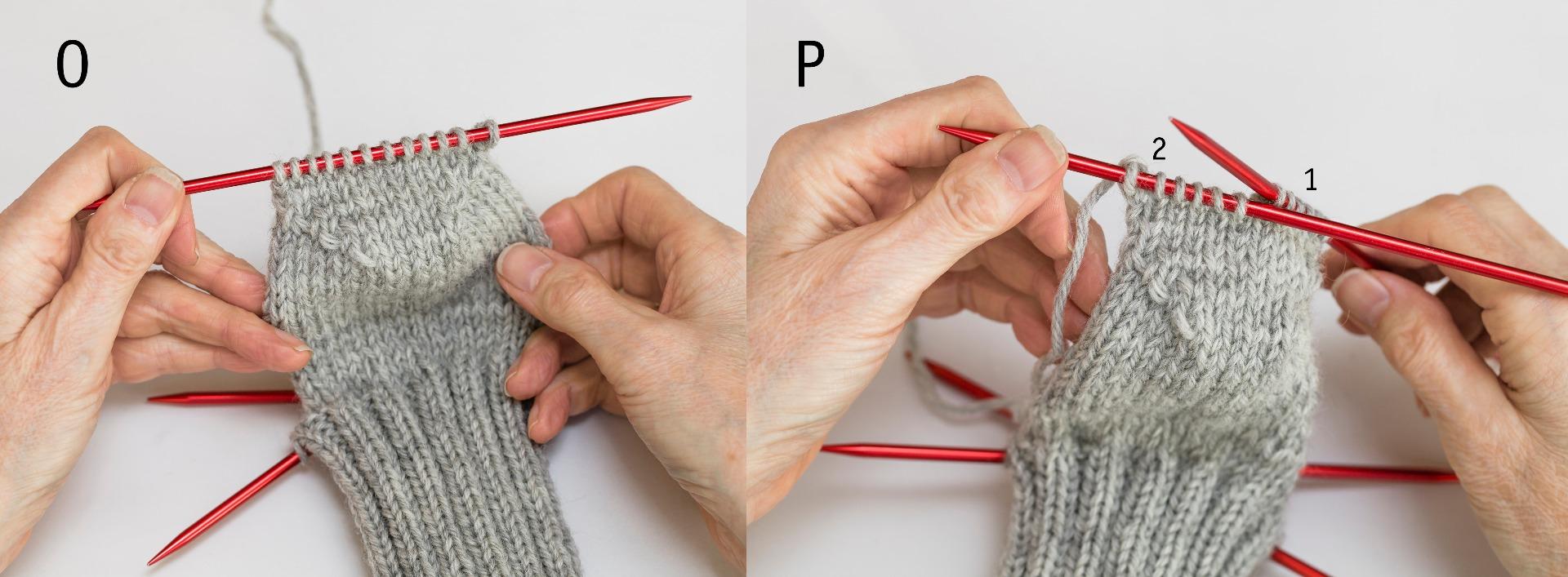 sticka sockor nybörjare beskrivning