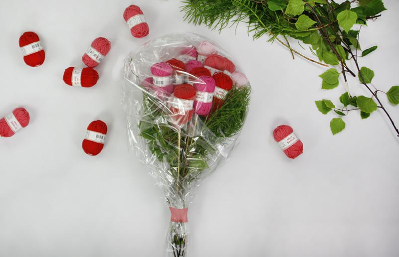 Blombukett av mininystan
