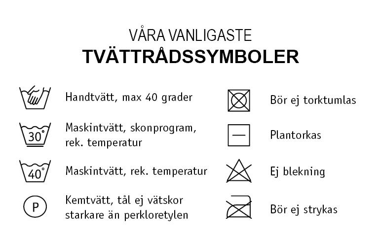 Tvättrådssymboler